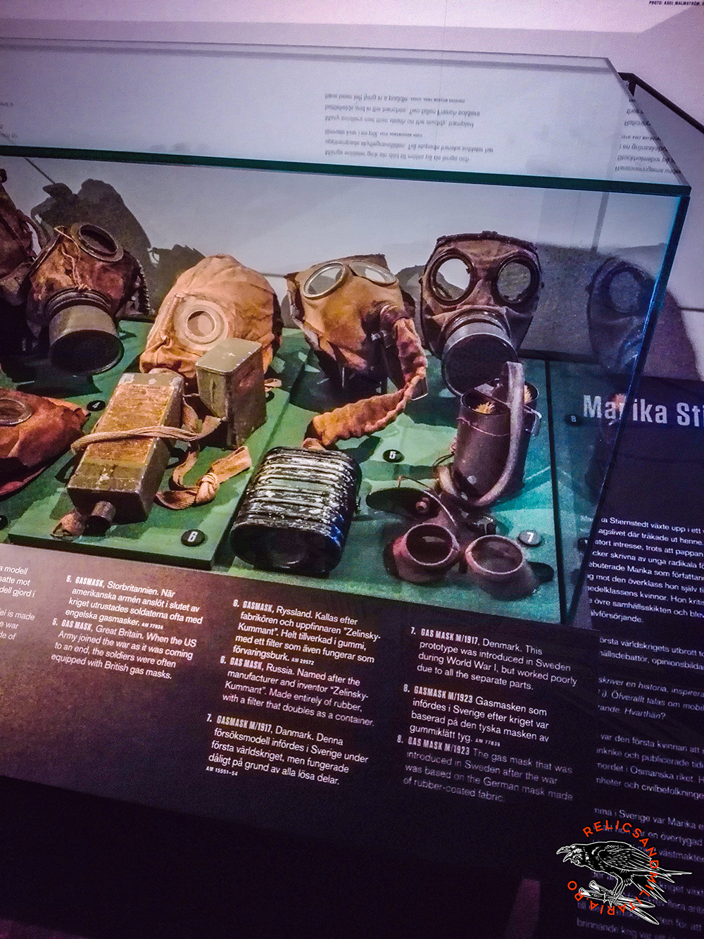world war one gas masks