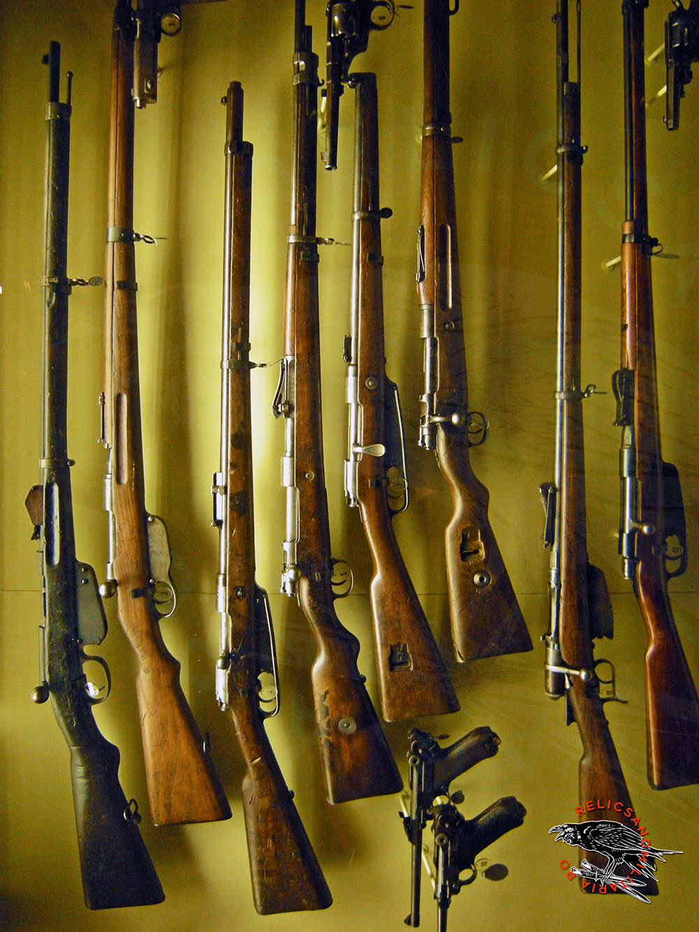 world war rifles