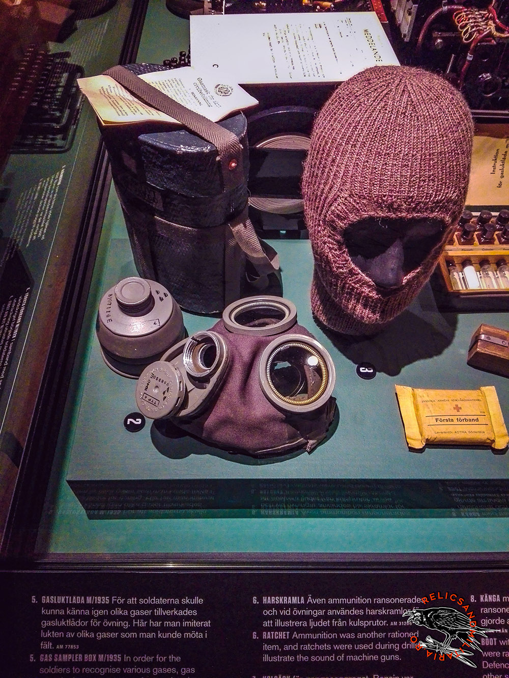 ww2 sweden gas mask