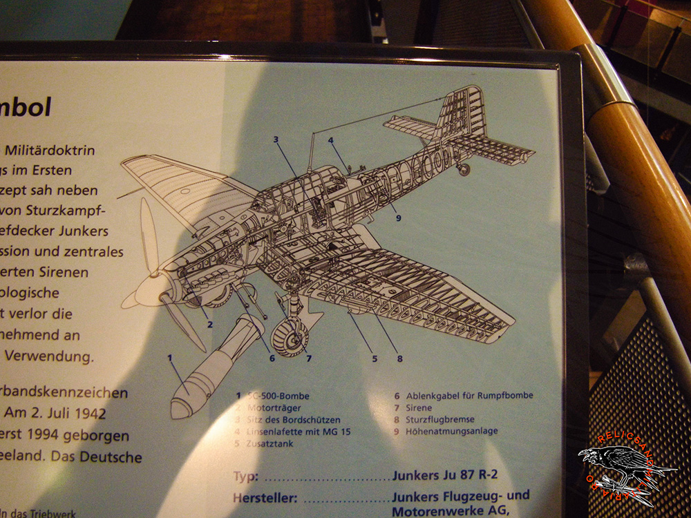 Junkers 87 Techical drawing