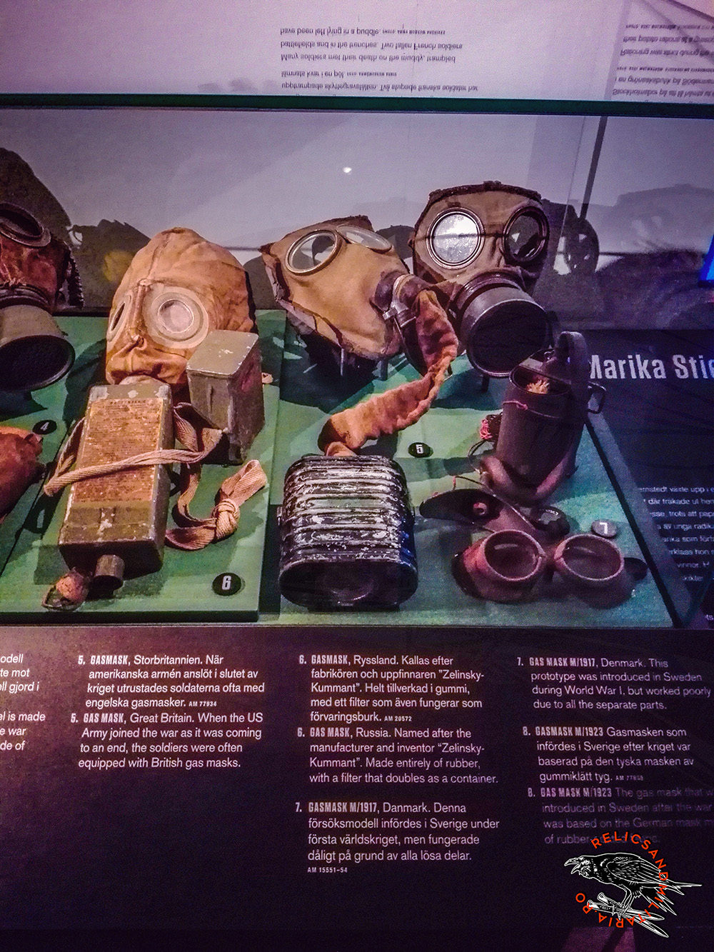 ww1 anti gas masks