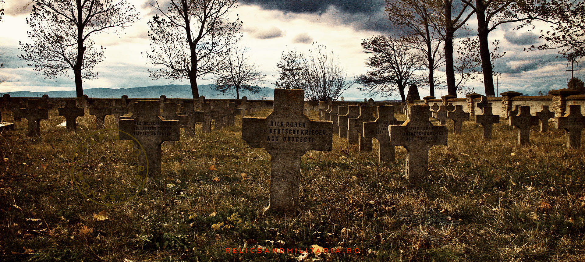German cemetery Romania