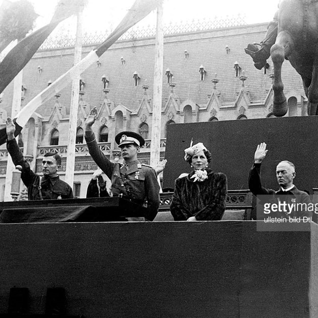 King Mihai I Horia Sima Ion Antonescu