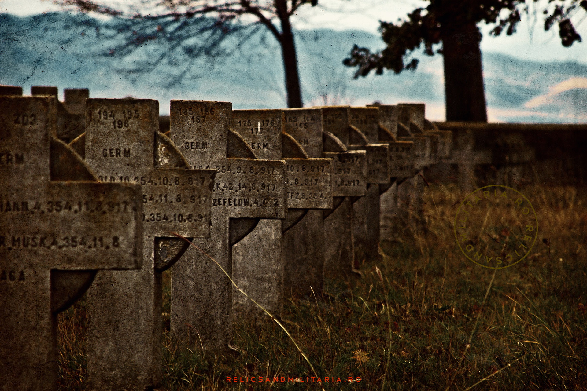 German cemetery World War One