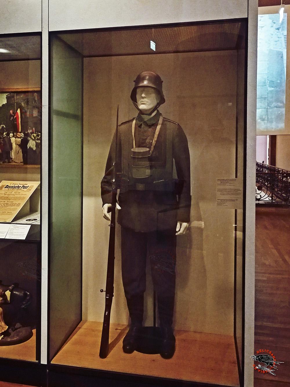 German Uniform and fieldgear ww1