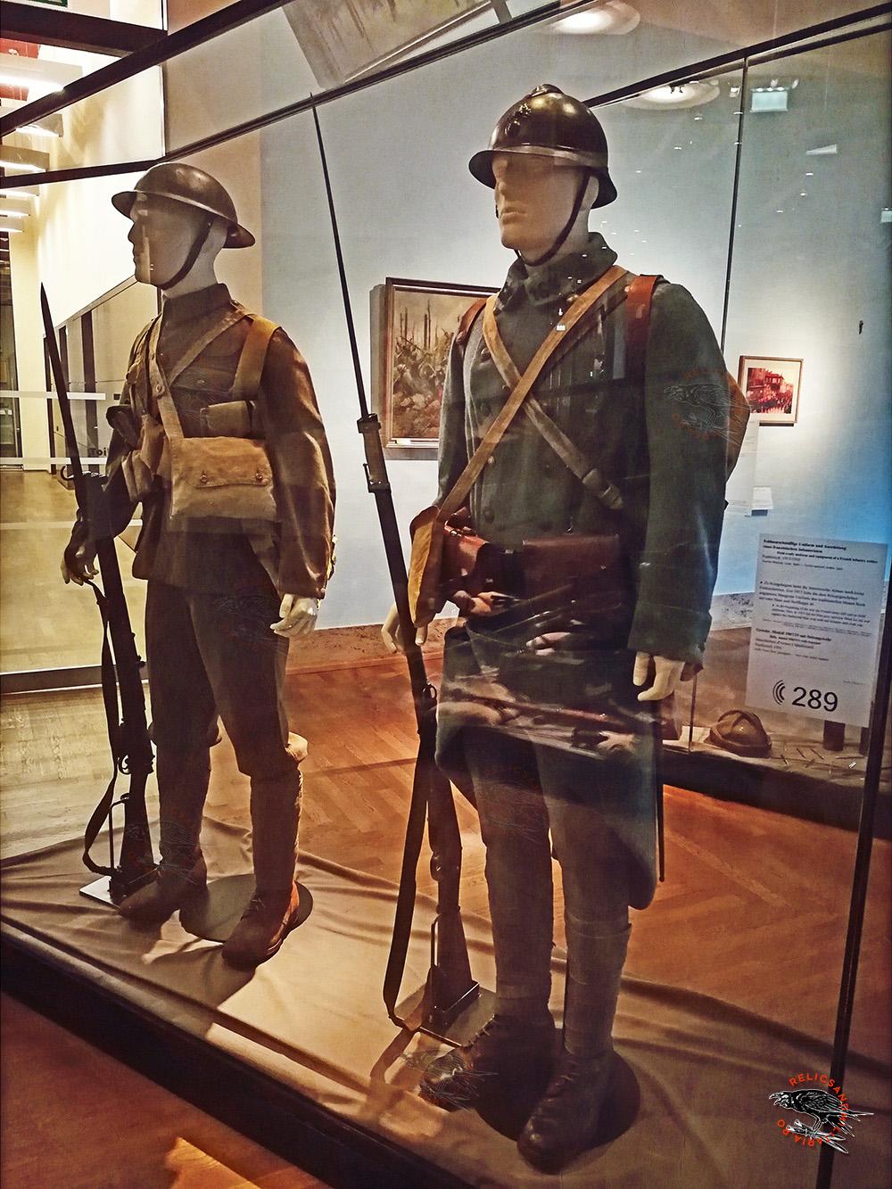French Uniform and fieldgear ww1