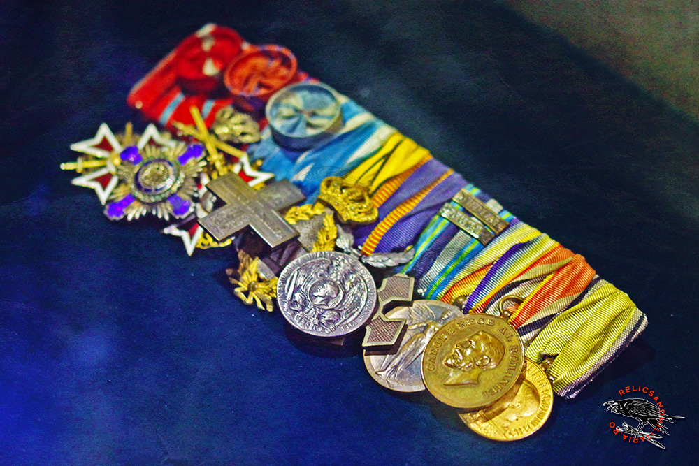 Romanian World War One medals and decorations Clasp