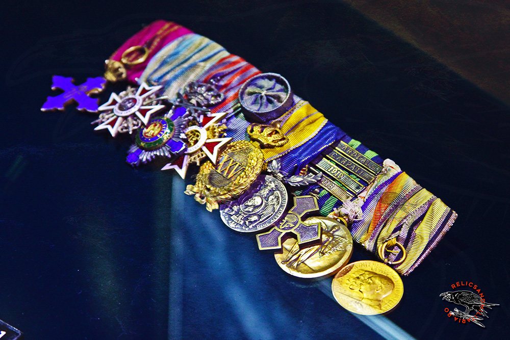 Romanian World War 1 medal Clasp