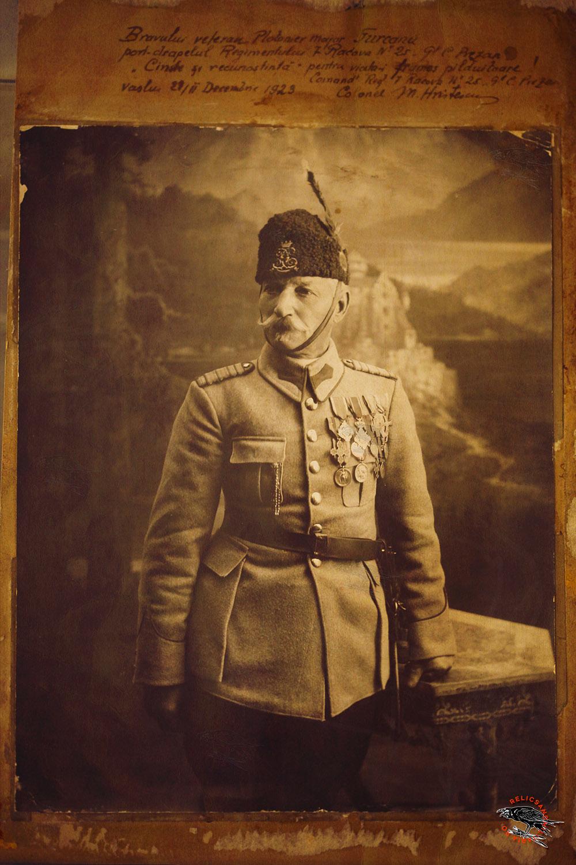 Plutonier Major Turcanu Romanian War of Independence (1877–1878)