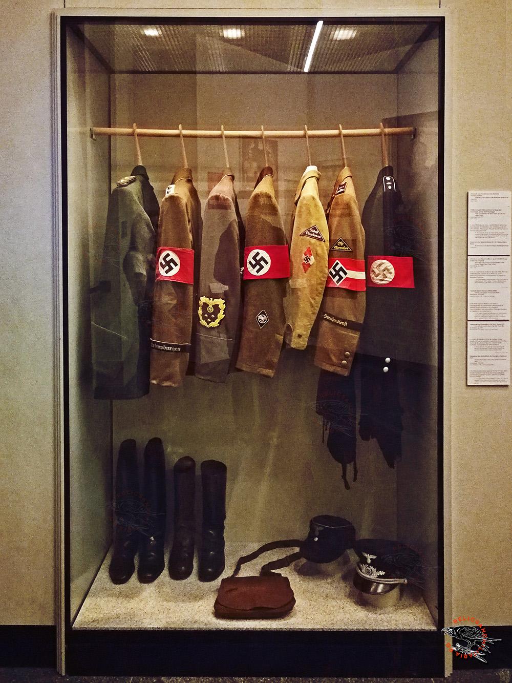Nazi uniforms SA SS