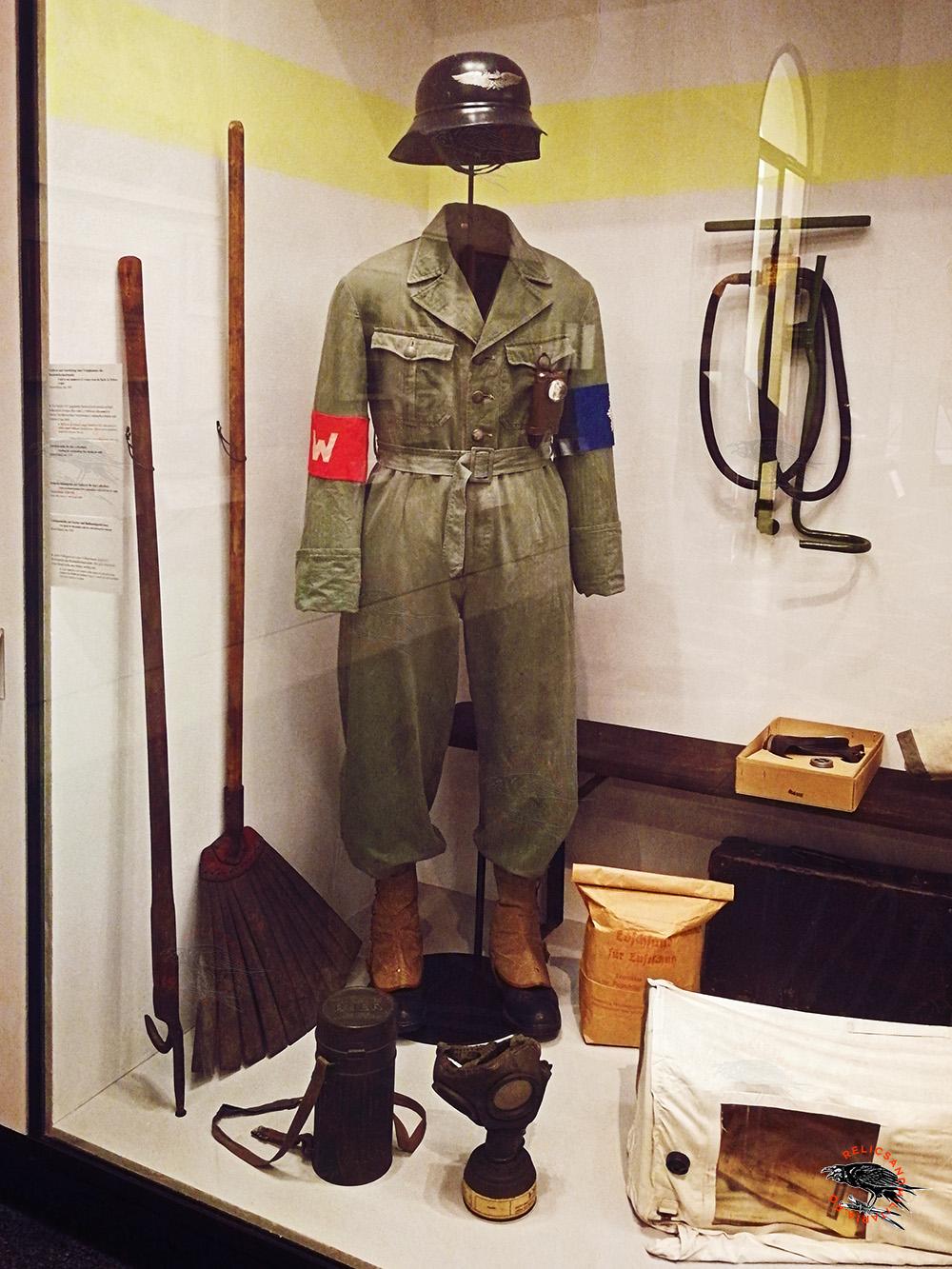 Nazi Luftschutz uniorm
