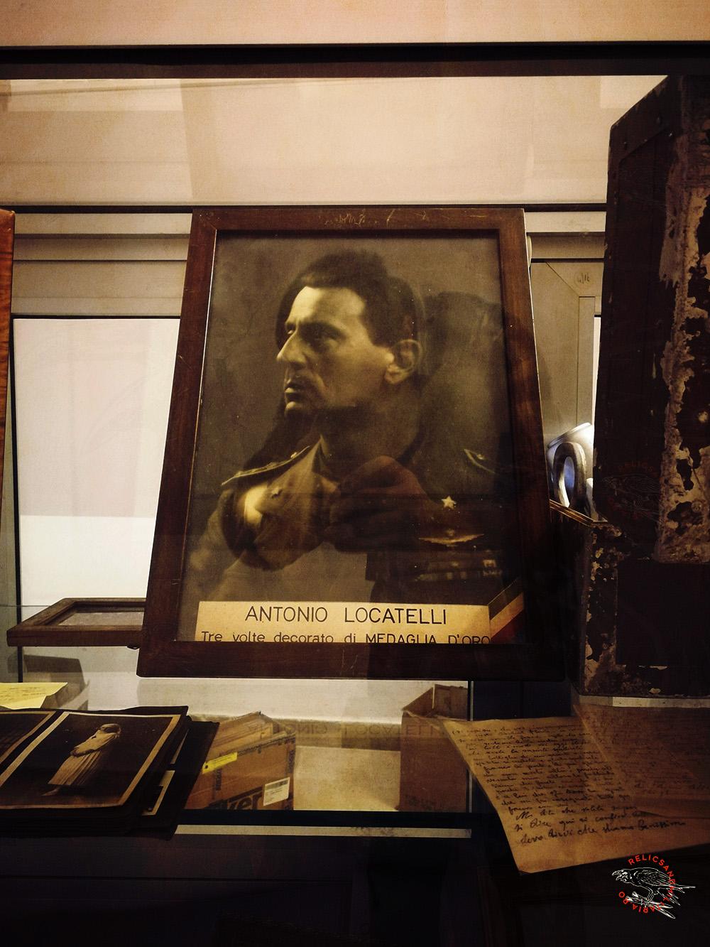 Antonio Locatelli WW2 Italy
