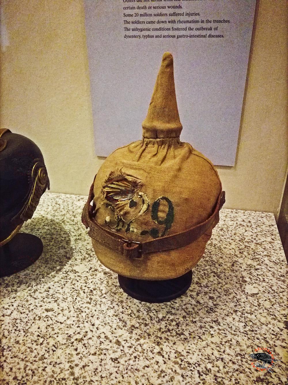 German ww1 helmet pickelhaube