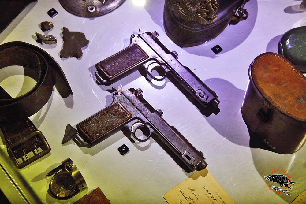 Romanian WW1 pistols