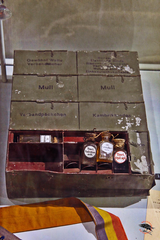 Romanian Red Cross WW1 Medic Kit