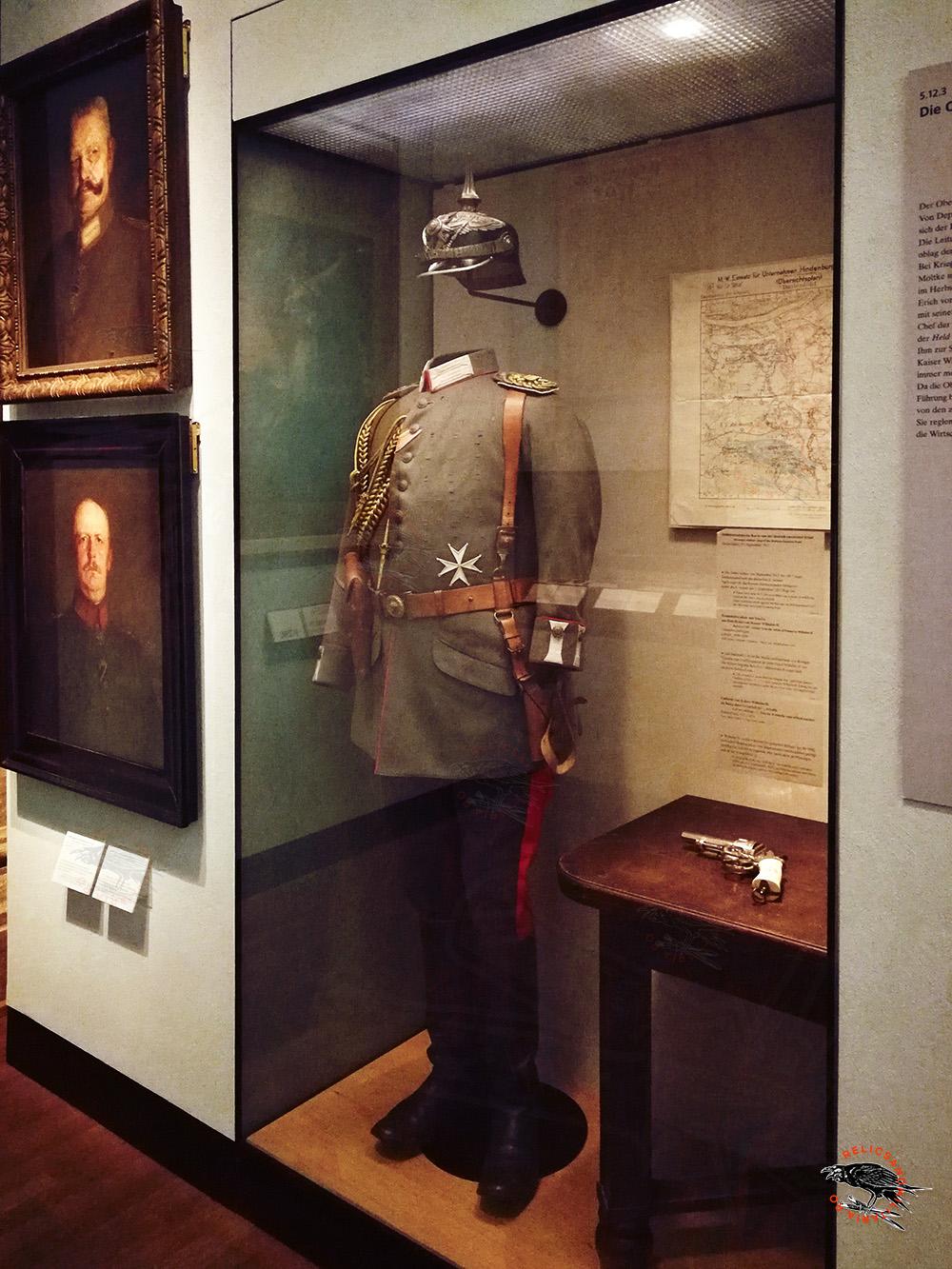 German ww1 Uniform and pickelhaube