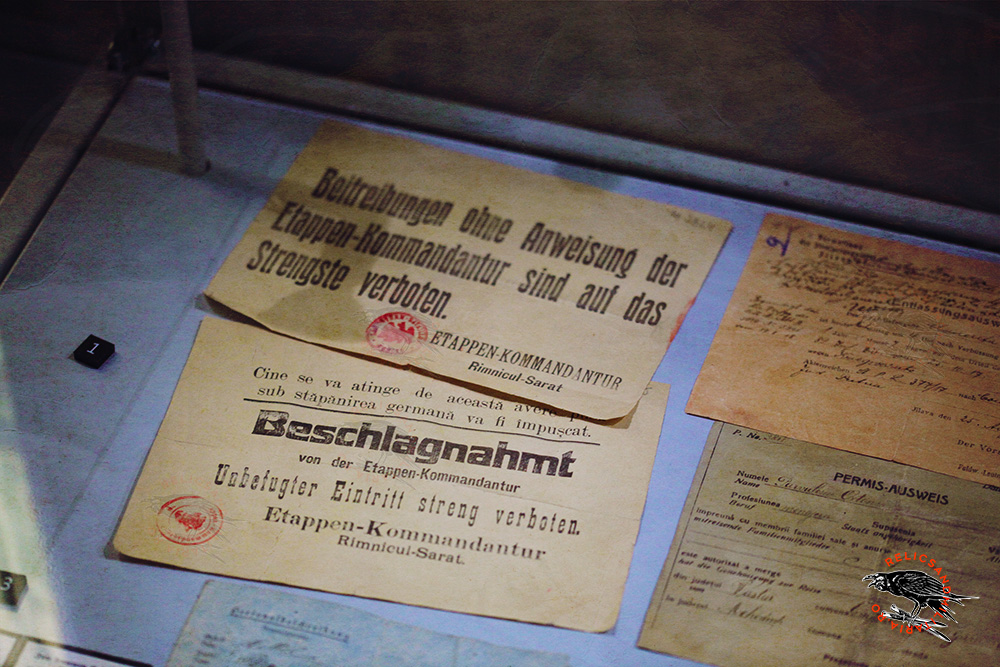 Bucharest under Austro Hungarian Ocupation permit