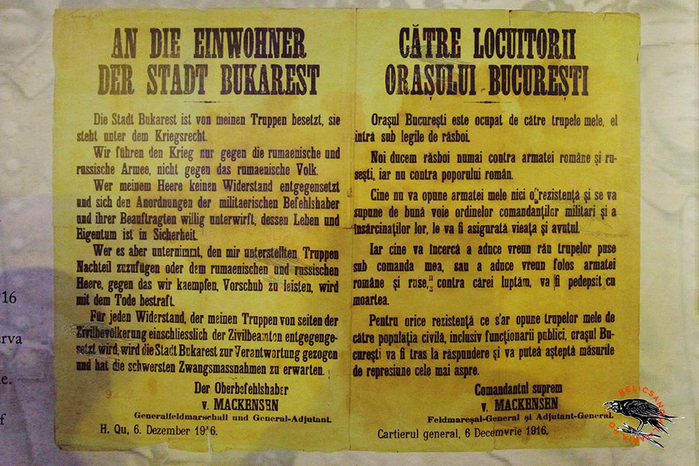 Bucharest under Austro Hungarian Ocupation