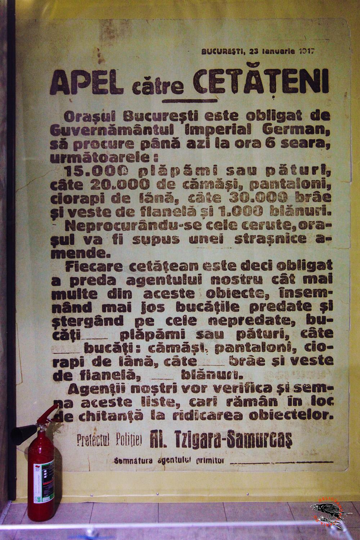 Bucharest under Austro-Hungarian Ocupation
