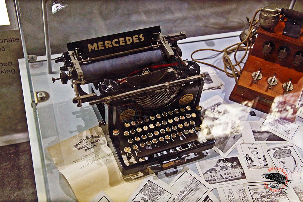 WW1 Austro Hungarian Mercedes typewriter