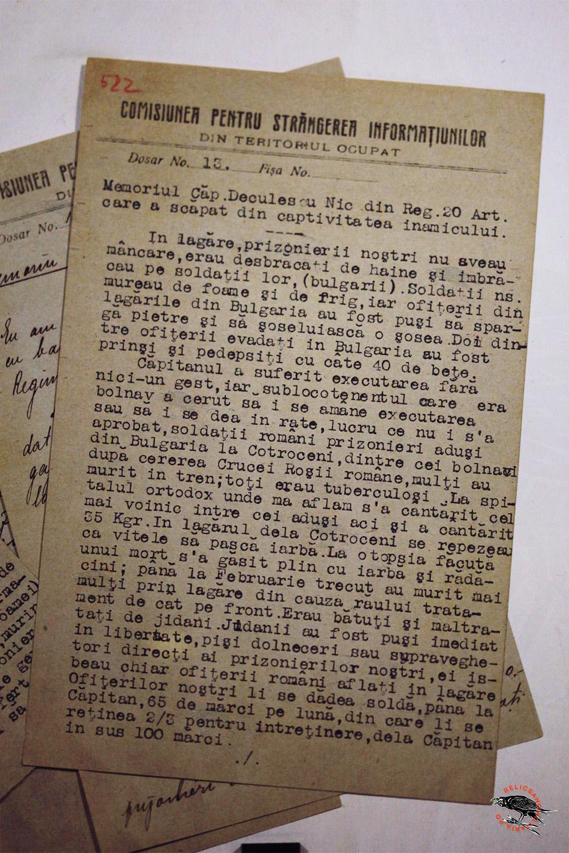 WW1 Romanian Prissonier Of War Camp