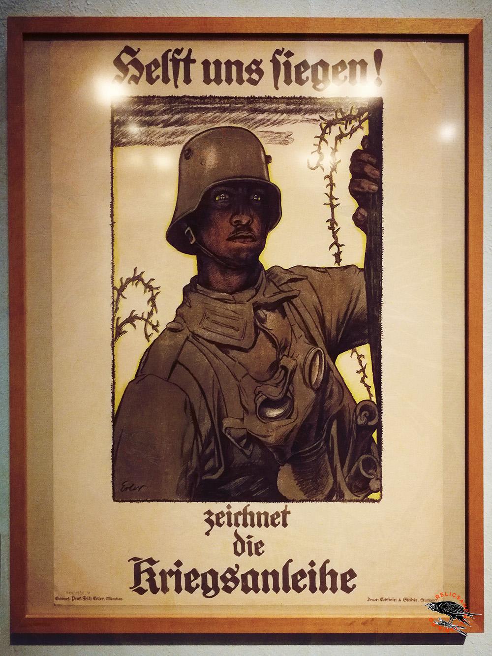 German ww1 poster