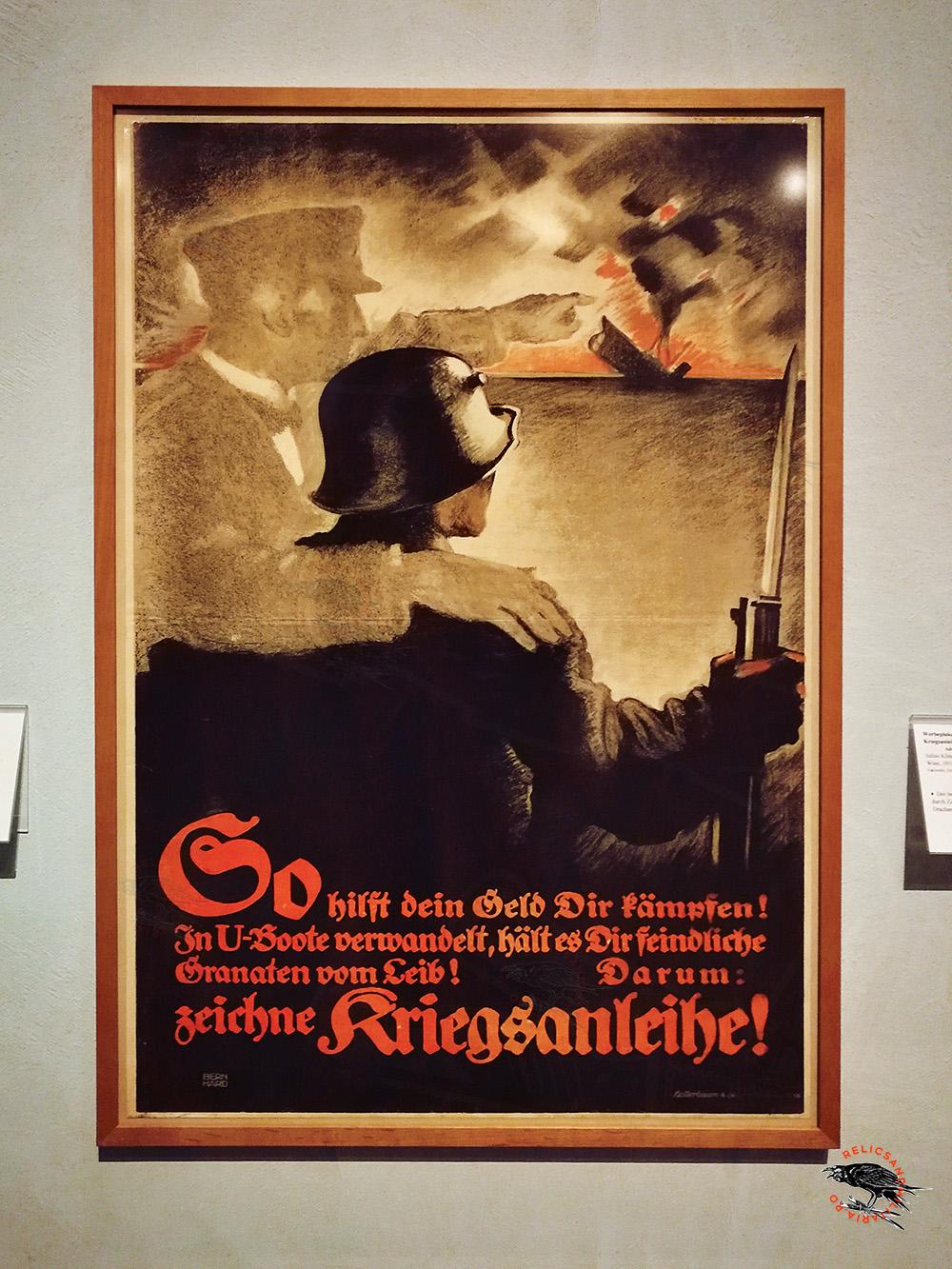 German propaganda poster ww1