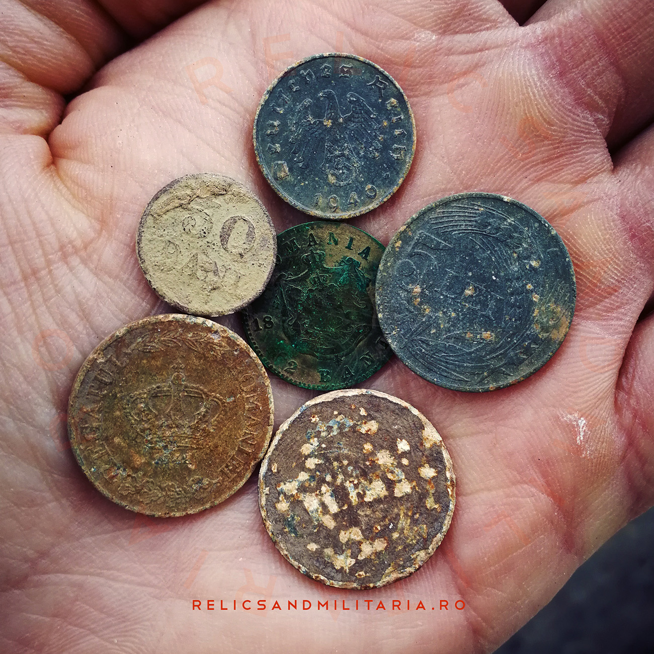 Coin Detecting around Bucharest