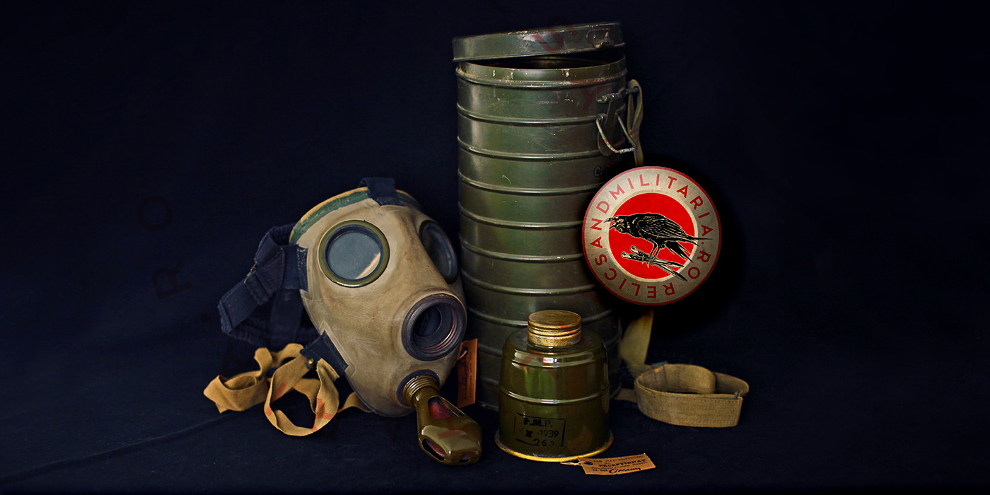 Romanian ww2 gas mask
