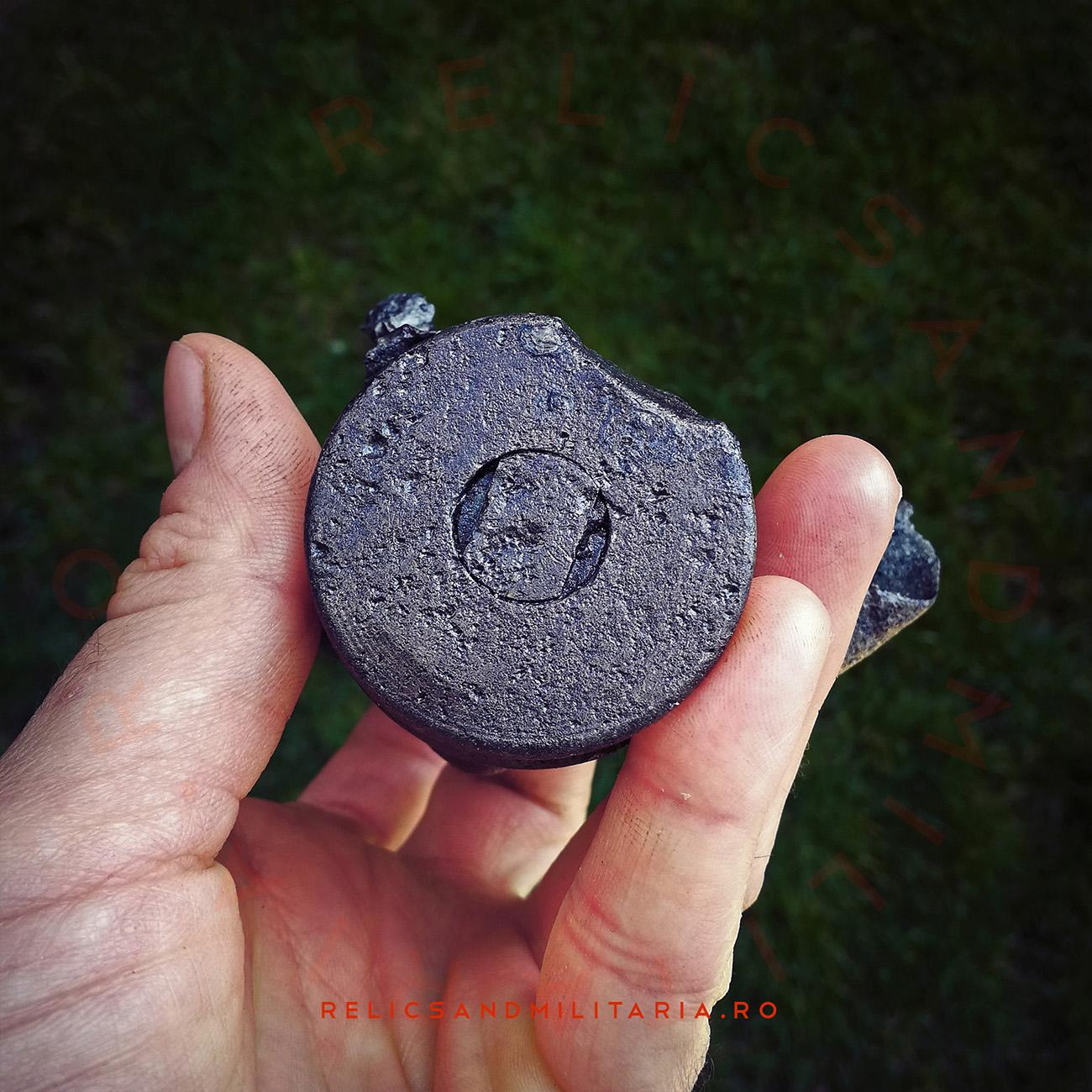 German Flak 37mm iron Shell