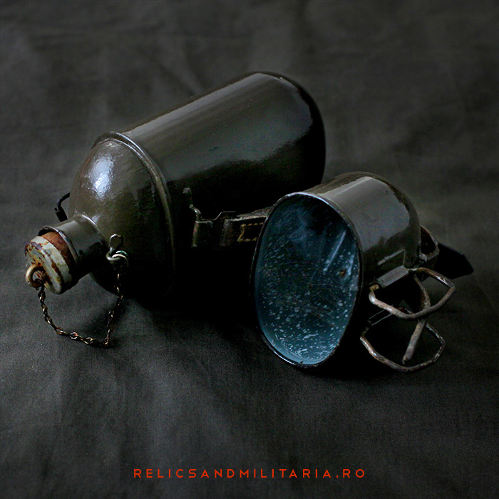Romanian soldier water bottle ww2