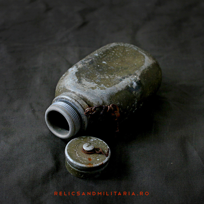 Romanian Army field gear water bottle