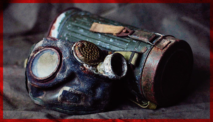 ROMANIAN ARMY MD39B GAS MASK – WW2