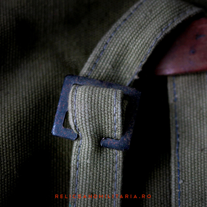 WW2 Romanian Army Bread bag detail