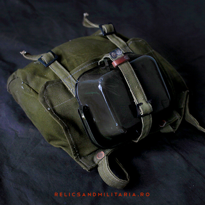 Romanian Army WW2 Bread Bag and Mess kit