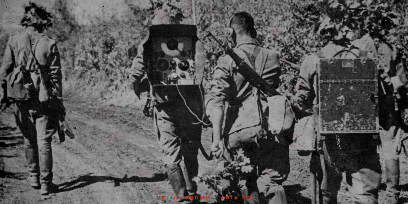 Romanian Army Radio Unit changes their positions in WW2