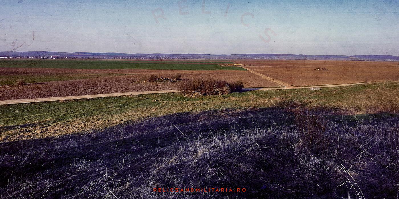 Romania Moldova bunker line
