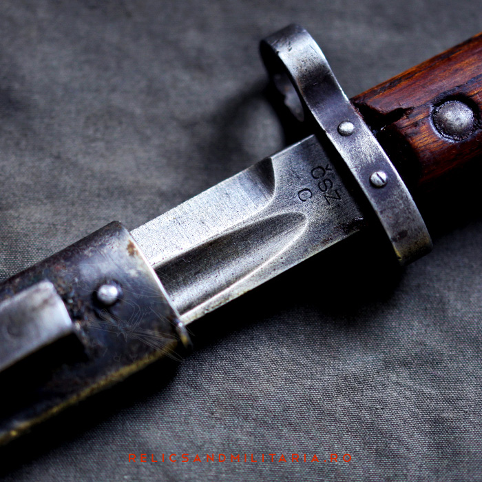 5 Czechoslovakia VZ–24 bayonet blade markings