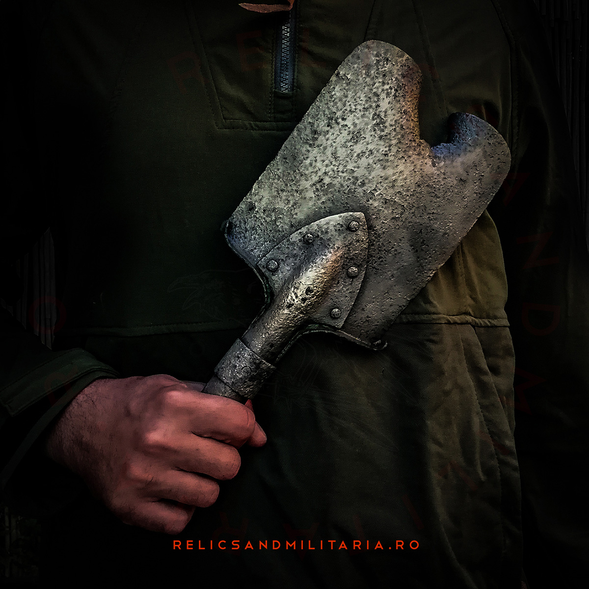 WW2 Russian entrenching tool