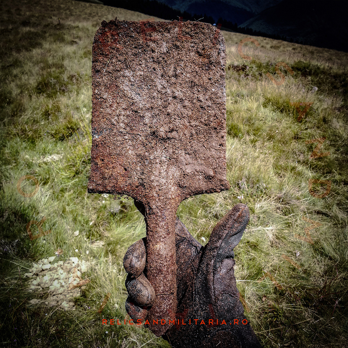 WW1 Linnemann shovel