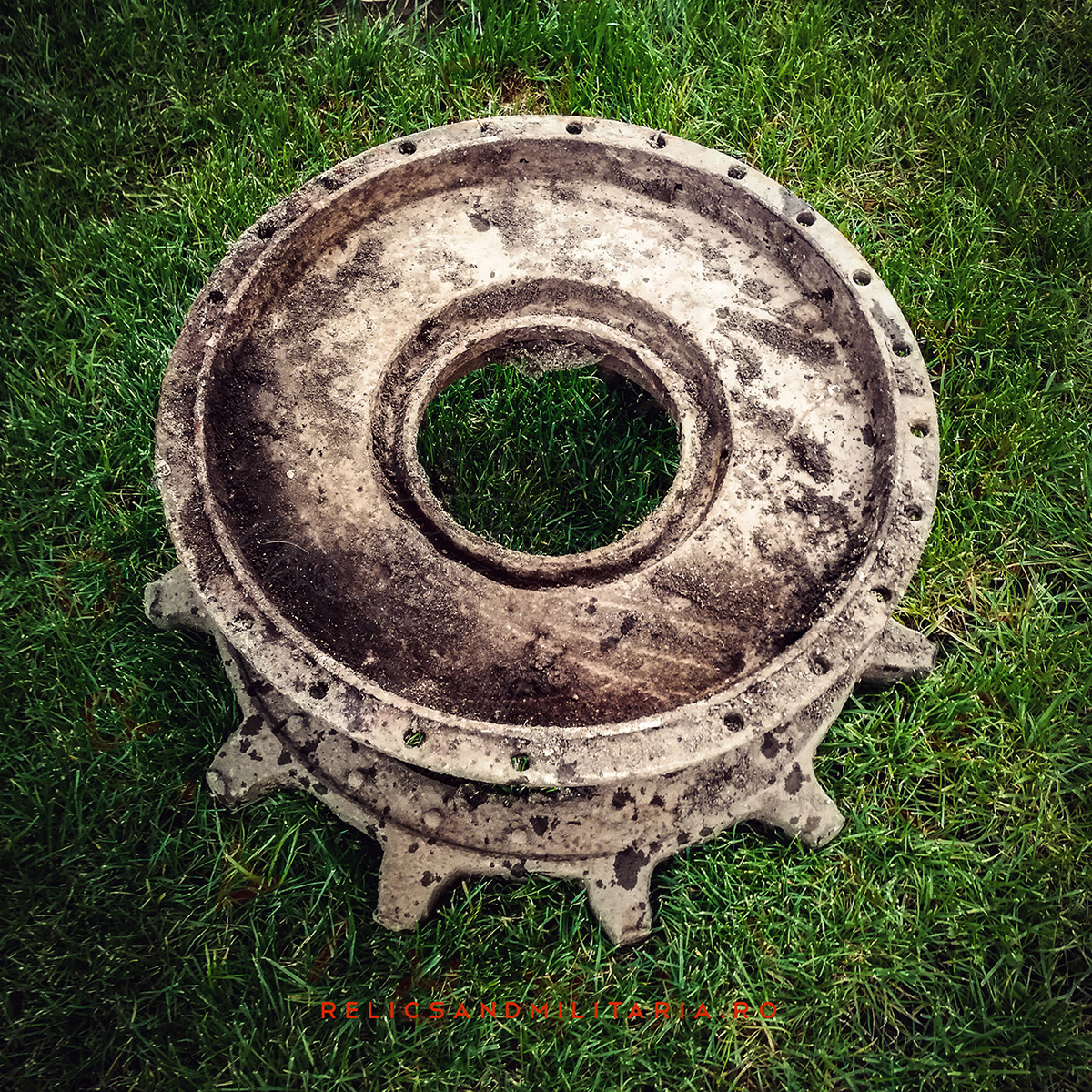 Raupenschlepper Ost sprocket wheel
