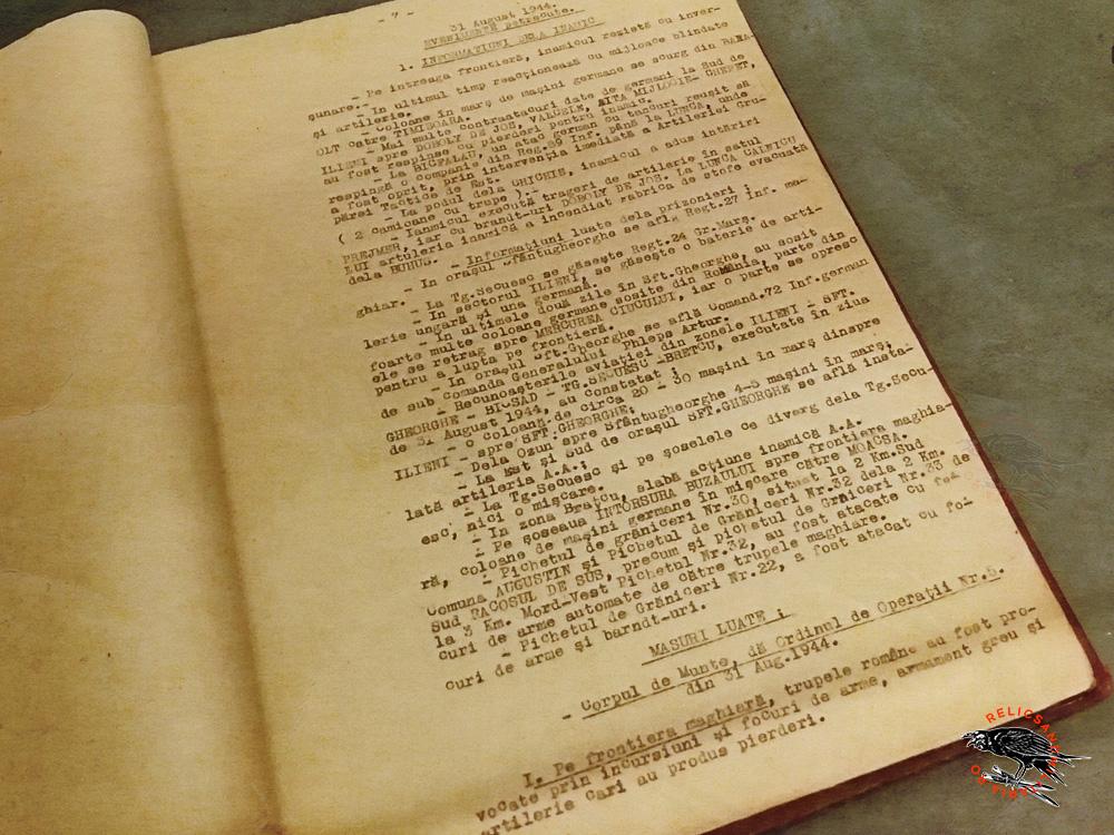 11 Jurnal de operatiuni Campania de eliberarea a Ardealului 1944