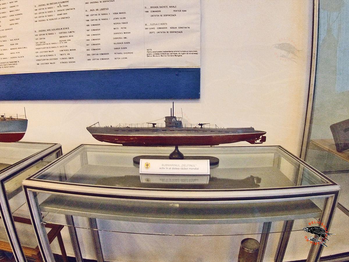 14 WW2 Romanian Submarine Delfinul