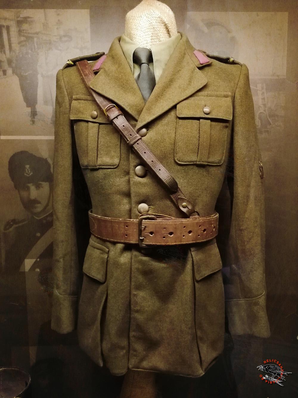 15 Romanian officer WW2 uniform diagonal belt