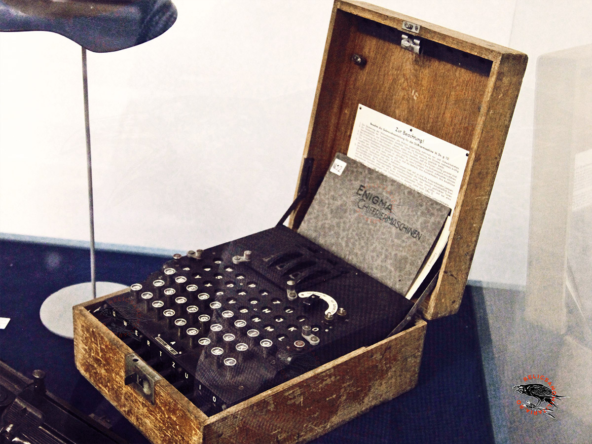 Nazi Enigma machine