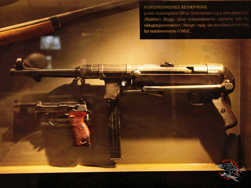 30 MP40 machinegun