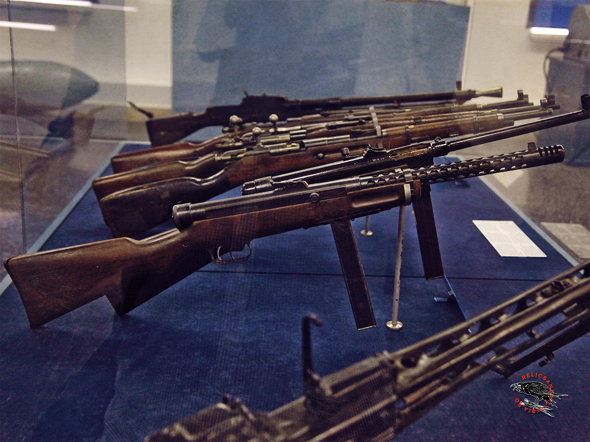 WW2 Rifles and machine guns
