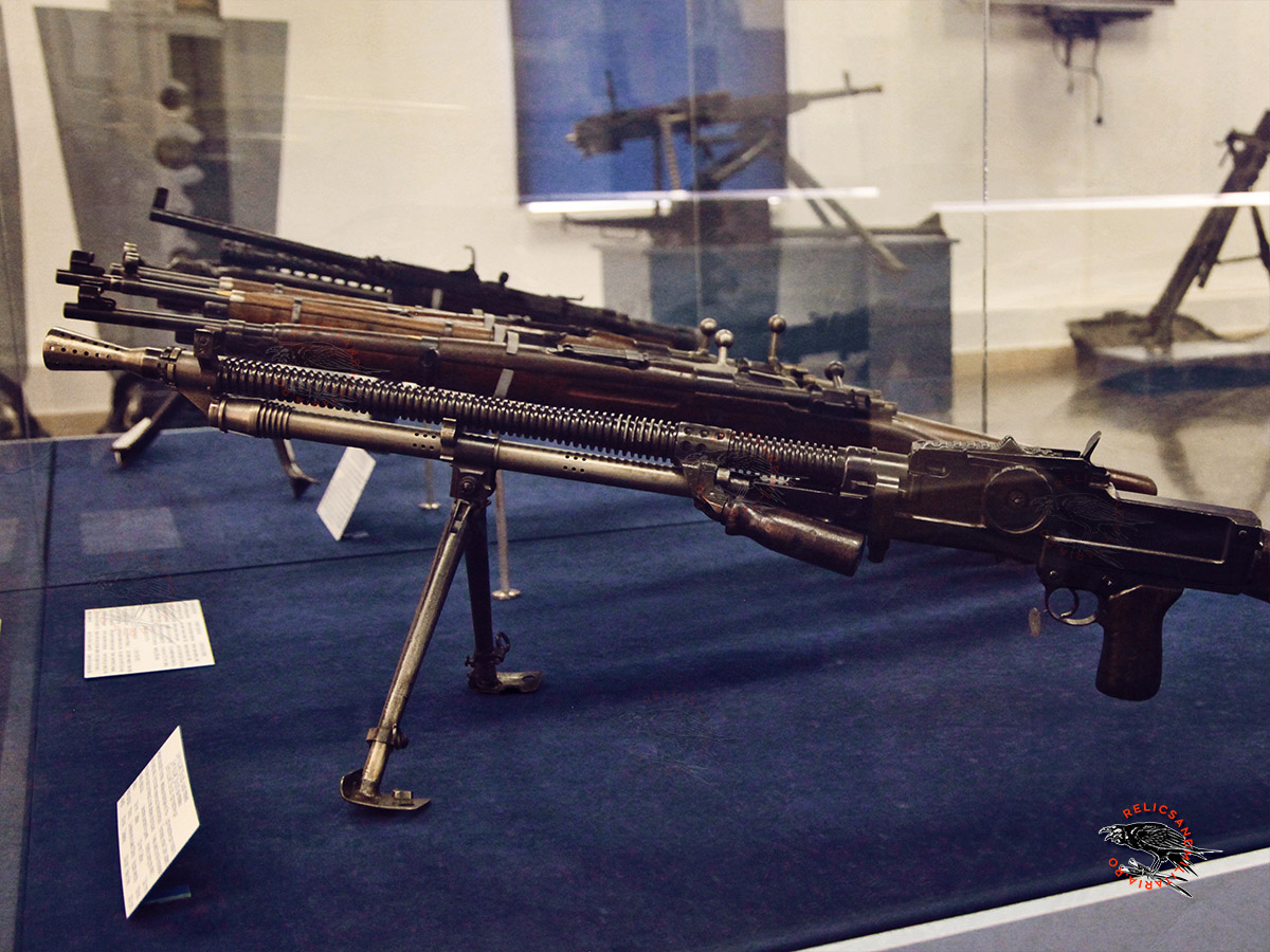 WW2 ZB26 VZ26 machine guns