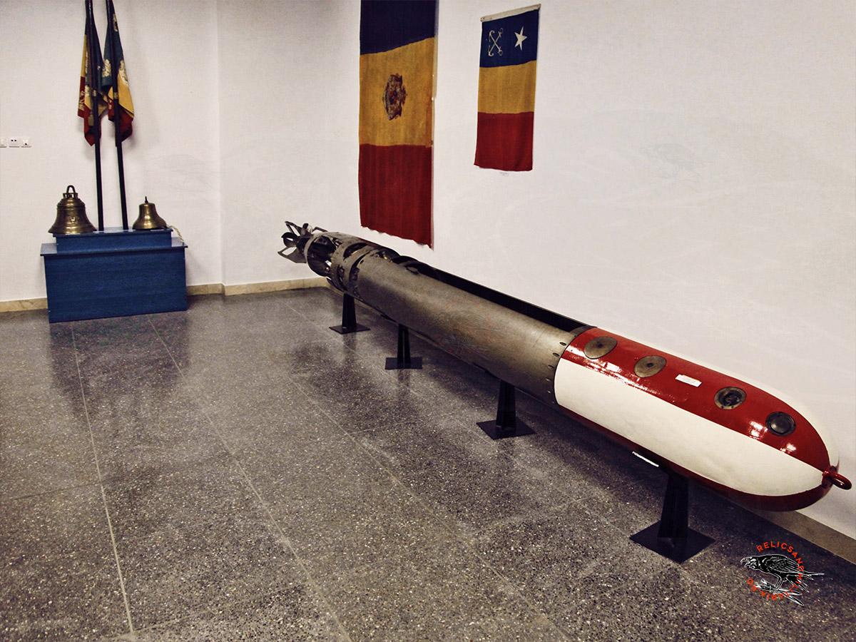WW2 Romanian Navy Torpedo