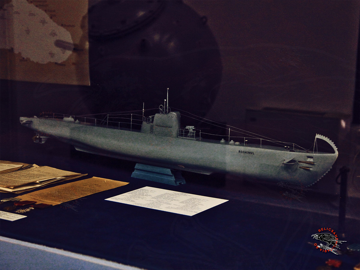 WW2 Romanian Navy Submarine Rechinul